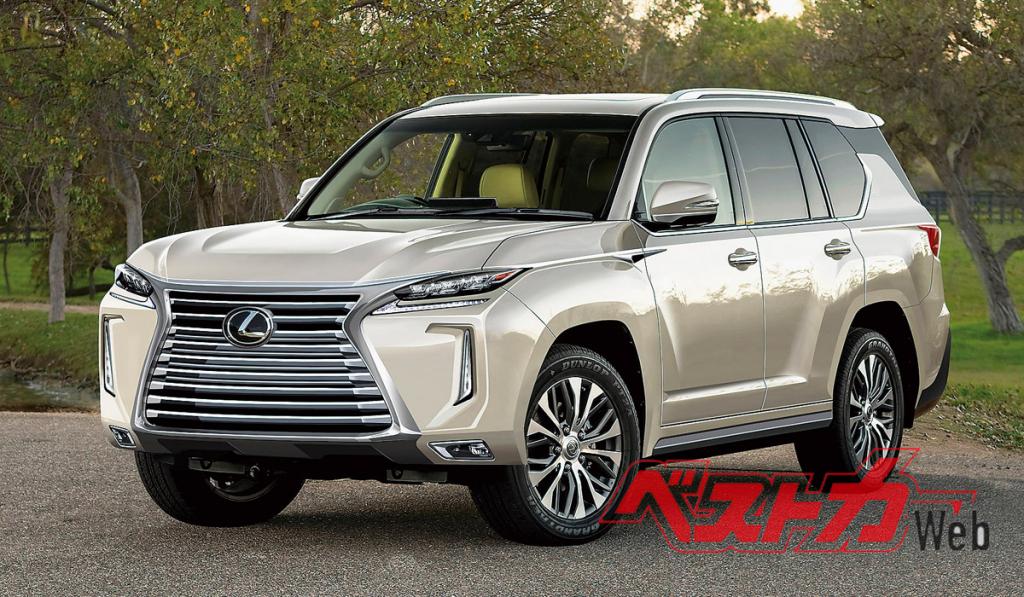 2021 lexus lx 570 wallpaper  the cars magz