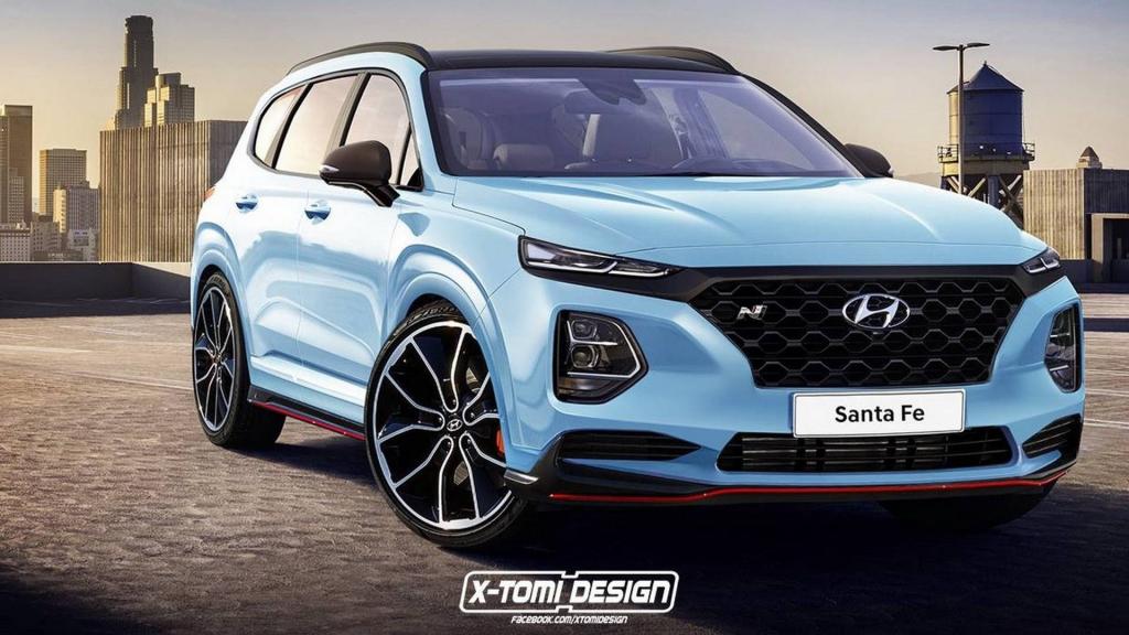 2021 Hyundai Santa Fe Images