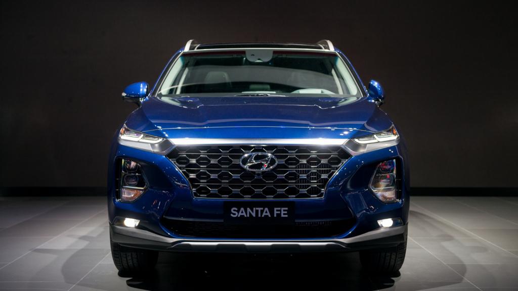 2021 Hyundai Santa Fe Spy Photos